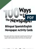 100 Maneras de Aprender Con El Periodico