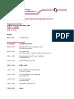 Programa Final Jornadas Medicas Interdisciplinarias