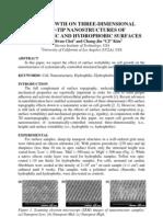 2009 uTAS Choi Cell Phobic-philic Nano Structures