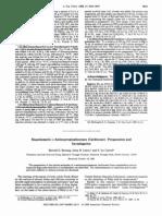 Enantiomeric a-Aminopropiophenones (Cathinone) Preparation and Investigation