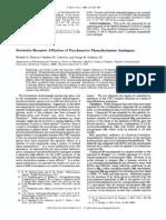 Serotonin Receptor Affinities of Psychoactive Phenalkylamine Analogues