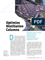 Optimize Distillation Columns