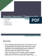 Bursitis,Sinovitis Y Tenosinovitis
