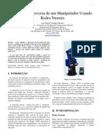 Luis E. Ynoquio Herrera - Projeto Redes Neurais