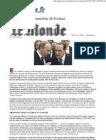 Wikileaks Le Monde Berlusconi l'Ambassadeur de Poutine