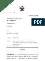 State v Kenneth Bunge Orina. Judgm. CC 12 - 2010. Lie Ben Berg, J 28 April 2011