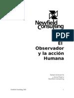 El observador y la acción Humana