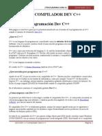 Leccion 1.4 Compilador DevCpp
