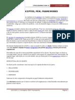 Leccion 2.2 Conceptos PEM, Frameworks