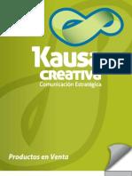 Catalogo Productos Kausa Creativa