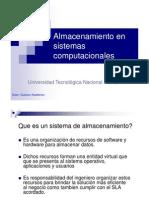 20100510 Almacenamieto en Sistemas Computacionales