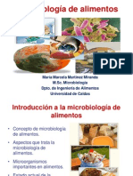 Introduccion a La Microbiologia de Alimentos