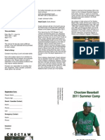 Baseball Camp Flyer2011