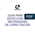 GUIA PARA LA DETECCIÓN DE NECESIDADES DE CAPACITACIÓN (2)