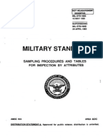 Military Standard 105d
