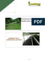 Instalación de una granja de lombricultura LOMBRICOL