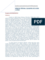 Francisco Gil Craviotto, « La renovada actualidad de Mirbeau. A propósito de la visita de Benedicto XVI a París »