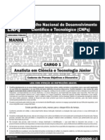 CNPQ - Prova