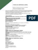 NORMA TÉCNICA DE COMPETENCIA LABORAL