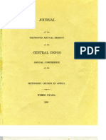 1955 Journal of the Sixteenth Annual Conference of the Central Congo Annual Conference of the Methodist Church in Africa