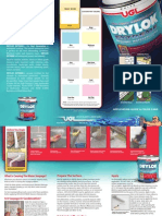 DRYLOK Masonry - DRYLOK Extreme Latex-Base Masonry Waterproofer - Brochure[1]