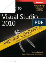 DRAFT Preview II - Moving to Microsoft Visual Studio 2010 (VS2008)