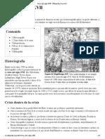 Crisis Del Siglo XVII - Wikipedia, La Enciclopedia Libre