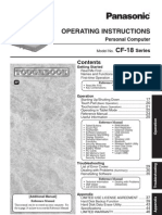 CF18K MK4 X E Operating Instructions