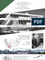 Construcción de Lecturas del Medio Exterior desde el Interior - Poster