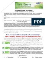 888 US Real Estate - Agent Appointment Agreement