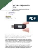 Como Proteger Dados Em Pendrives e Dispositivos USB