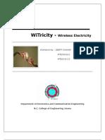 32821674 Witricity FULL Seminar Reort