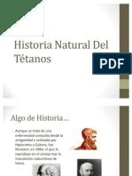 Historia Natural Del Tétanos