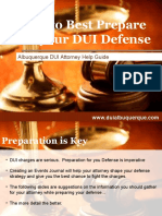 DUI Lawyer Albuquerque