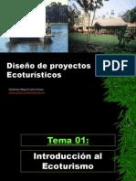DISEÑO DE PROYECTOS ECOTURISTICOS