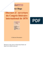 1923-VICTOR HUGO-Discours Douverture Du Congres Litter a Ire International de net