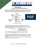 condensadores en motores monofásicos