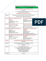 Perincian Program Konvoi Pembebasan Palestin 2011