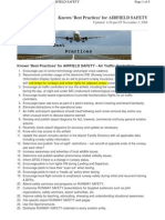 11.Known Best Practices for Airfield Safety