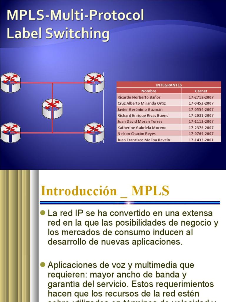 MPLS presentacion