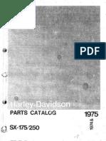 parts Manual SX175-SX250 197 & 1975