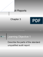 Chapter 3 Audit Report