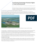 Lignite Drying Process in USA