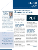 Article Re Special Needs Trusts