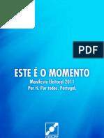 CDS PP Manifest Eleitoral 2011