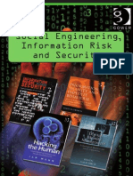 Books on Social Engineering Information Risk and Security