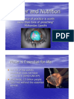 Water and Nutrition Only]