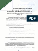 INSTRUCCIONES DESBUROCRATIZACION PROFESIONALES