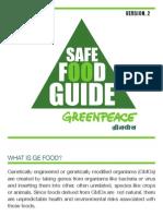 Pocket Safe Food Guide for PDF