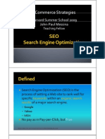 Class 6 Slides -Search Engine Optimization